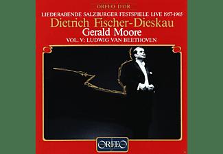 Dietrich Fischer-Dieskau, Gerald Moore - Liederabende Salzburger Festspiele Live 1957-1965 - Vol. V: Ludwig Van Beethoven  - (CD)