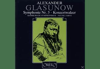 VARIOUS - Sinfonie 3 op.33/Konzertwalzer 2 op.51  - (CD)