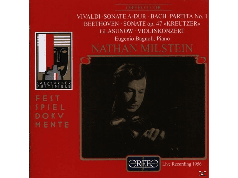 N. & BAGNOLI Milstein - SONATE OP.47/VIOLINKONZERT [CD]