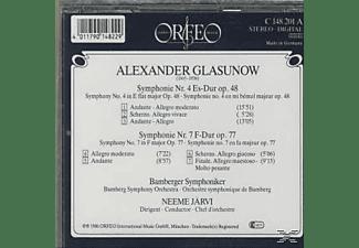 Bamberger Symphoniker - Sinfonien 4 Es-Dur op.48/7 E-Dur op.77  - (CD)