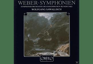 Wolfgang & Symphonieorchester Des Bayerischen Run Sawallisch - Sinfonien 1 C-Dur/2 C-Dur  - (CD)