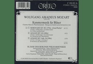 Bläser Der Berliner Philharmoniker - Gran Partita/Adagios-Kammermusik für Bläser  - (CD)
