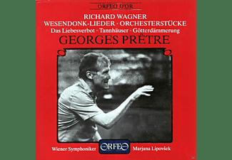 Wiener Symphoniker, Marjana Lipovsek - Wesendonk-Lieder/Orchesterstücke  - (CD)