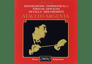 Wiener Symphoniker, Ataulfo Argenta - Sinfonie 3 A-Moll Op.56/Don Juan/Der Dreispitz  - (CD)