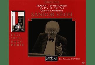 Sandor & Camms Vegh - Sinfonien KV 19a/81/338/543  - (CD)