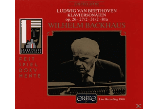 Wilhelm Backhaus - Klavierson. Op.26,27,  - (CD)