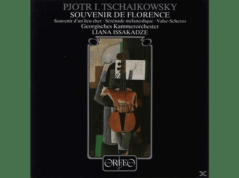 Issakadze, Georgisches Kammerorchester - 5 Stücke f.Violine u.Klavier/Souvenir de Florence [CD]