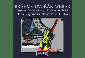 Boris Pergamenschikow, Pavel Gililov - Sonate op.78/Sonatine op.100/Sonate op.10b 6  - (CD)