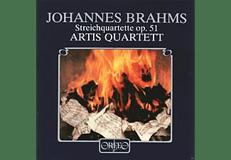 Artis-quartett Wien - Streichquartette c-moll op.51,1/a-moll op.51,2  - (CD)