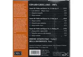Sitkovetsky & Davidovich - DIE VIOLINSONATEN  - (CD)