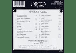 Dietrich Fischer-Dieskau - Melodies-Lieder:Deux epigrammes/Chants popul./+  - (CD)