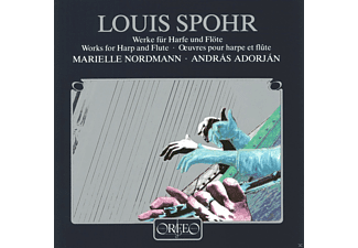 Marielle Nordmann, Adorjan Andras - Werke F.Harfe U.Flöte/op.113/115/118/WoO 23  - (CD)