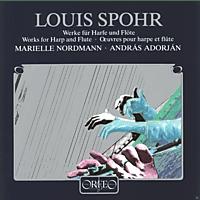 Marielle Nordmann, Adorjan Andras - Werke F.Harfe U.Flöte/op.113/115/118/WoO 23 [CD]