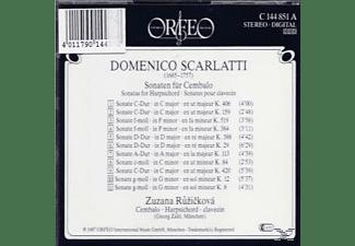 Zuzana Ruzicková - Domenico Scarlatti: Sonaten For Cembalo  - (CD)