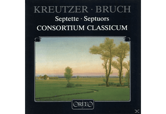 Consortium Classicum, Conradin Kreutzer, Max Bruch - Kreutzer - Bruch: Septets - Septuors  - (CD)