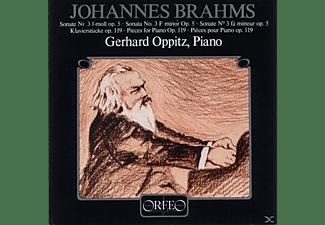 Gerhard Oppitz, VARIOUS - Klaviersonate F-Moll Op.5/4 Klavierstücke Op.119  - (CD)