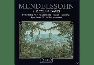 Sobr, Sir Colin Davis - Sinfonien 4 A-Dur op.90/5 d-moll op.107 Ref.  - (CD)
