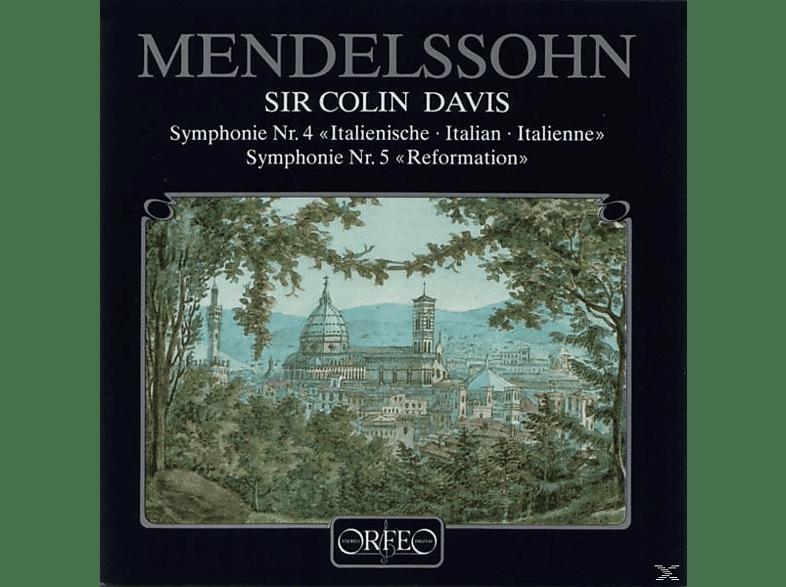 Sobr, Sir Colin Davis - Sinfonien 4 A-Dur op.90/5 d-moll op.107 Ref. [CD]