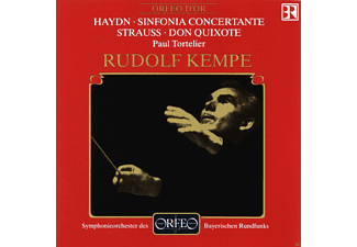 Johann Michael Haydn, Richard Strauss - Haydn: Sinfonia Concertante - Strauss: Don Quixote - (CD)