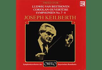 Ludwig Van Beethoven - Ludwig Van Beethoven: Coriolan-Ouvertüre - Symphonies Nos. 7 & 8  - (CD)