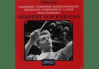 KARAJAN & WR.SYMPHONIK - MATHIS,SYMPH.7  - (CD)
