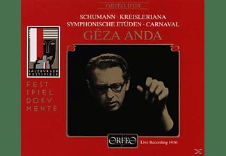 Géza Anda - Symphon.Etüden/Kreisleriana/Carnaval  - (CD)