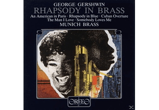 Munich Brass - Rhapsody in Brass: An American in Paris - (CD)