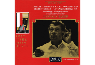 Lucia Popp, Wolfgang Schulz, Hager Leopold, Mozarteum Orchester - Sinfonie KV 297/Konzertarien/Les petits riens/+  - (CD)