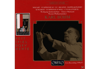 Karl Böhm, Wiener Philharmoniker, Enrico Mainardi, Schneiderhan Wolfgang - Sinfonie KV 385/Doppelkonzert/Unvollendete  - (CD)