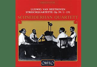 Schneiderhan Quartett - Streichquartette F-Dur op.59,1/cis-moll op.131  - (CD)