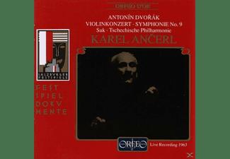 Suk & Tschechische Philharmonie - Violinkonzert a-moll op.53/Sinfonie 9  - (CD)