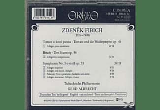 TSCHECH.PHIL. & ALBREC - Toman A Lesni Panna/Der Sturm/Sinfonie 3 e-moll  - (CD)