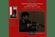 Nathan Milstein - Violinsonaten BWV 1001,1005/Partita BWV 1004 [CD]