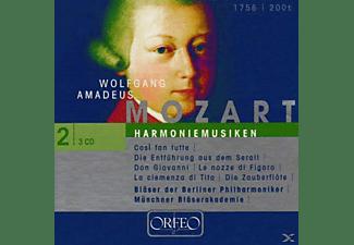 Blaser Der Berliner Philharmoniker - Harmoniemusiken:Cosi/Entführung/Figaro/+  - (CD)