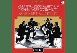 """Koeckert Quartett - Streichquartette Op.12 / Op.41,2 / """"Aus Meinem Leben""""  - (CD)"""