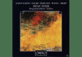 Pergamenschikow & Gililov - Beau soir-Musik für Cello und Klavier  - (CD)