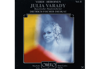 Varady Julia, Bayrisches Staatsorchester - Verdi-Heroinen Vol.2 Julia Varady  - (CD)