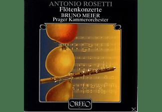Meier & Prager Kammerorchester - Flötenkonzerte RWV C 16/21/22/25  - (CD)