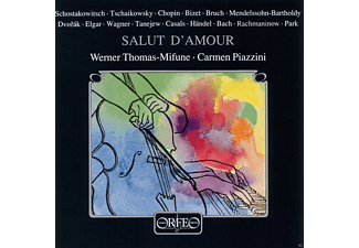 Werner Thomas-mifune, Piazzini Carmen - Salut d'Amour:Nocturne/Andantino/Kol Nidrei/Rondo/  - (CD)