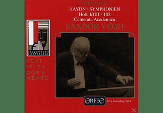 Vegh Sandor - Sinfonien 101 D-Dur/102 B-Dur  - (CD)