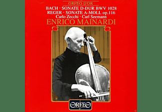 Carl Seemann - Cellosonaten D-Dur BWV 1028/a-moll op.116  - (CD)