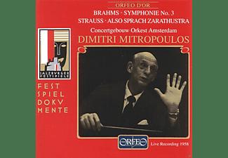 Concertgebouw Orkest Amsterdam - Sinfonie 3 op.90/Also Sprach Zarathustra op.30  - (CD)