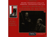 David Oistrach, Sviatoslav Richter - Violinsonaten A-Dur op.100/f-moll op.80 [CD]