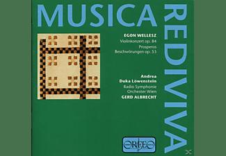 Andrea Duka Löwenstein, Radio Symphonie Orchester Wien - Violinkonzert op.84/Prosperos Beschwörungen  - (CD)