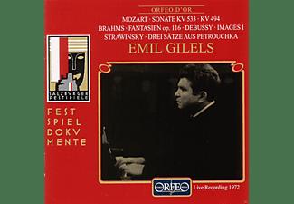 Emil Gilels - Sonaten KV 533 & 494/Fantasien/Images/Petrouchka  - (CD)