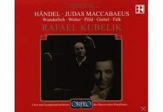 Fritz Wunderlich - Judas Maccabaeus-Oratorium in drei Akten  - (CD)