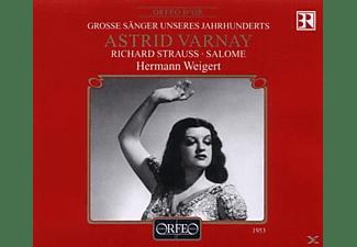 Julius Patzak, Astrid Varnay, Hermann Weigert, Hans Braun, Bayri - Salome (GA)  - (CD)