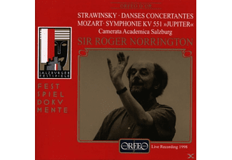 Camerata Academica Salzburg - Divertimento KV 136/Sinfonie KV 551/Danses concer.  - (CD)