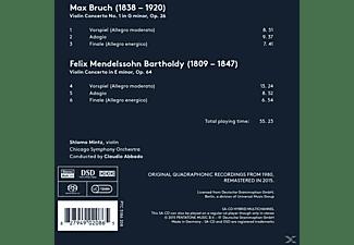 Shlomo Mintz, Chicago Symphony Orchestra - Bruch & Mendelssohn: Violin Concertos  - (SACD)
