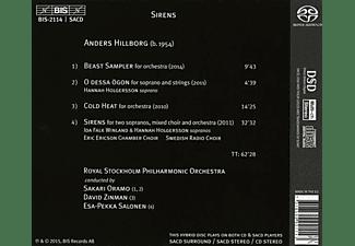 Oramo/Zinman/Salonen - Sirens.Werke für Orchester  - (SACD)